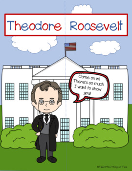 President Research Project Lapbook  *Includes Every President*
