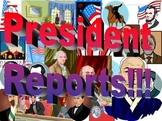 BUNDLE - President Research Report & Reading Skills Unit- ELECTION VOTING