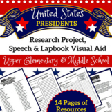 President Research, Speech & Lapbook Project