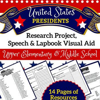 President Research, Speech & Lapbook Project