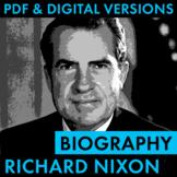 President Richard Nixon Biography Research Organizer, Easy