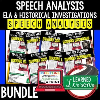 President Ronald Reagan A Time for Choosing Speech Analysis & Writing Activity