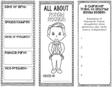 President Ronald Reagan - Biography Research Project - Graphic Organizer