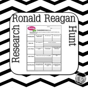 President Ronald Reagan Research Hunt