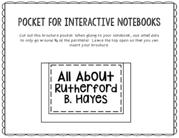 President Rutherford B. Hayes - Biography Research - Interactive Notebook