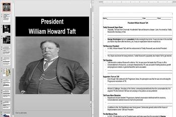President Taft to President Wilson's Election in 1912 Powe
