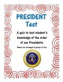 President Test