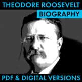 President Theodore Roosevelt Biography Organizer, Easy Res