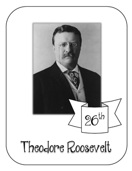 President Theodore Roosevelt Lapbook and Interactive Notebook