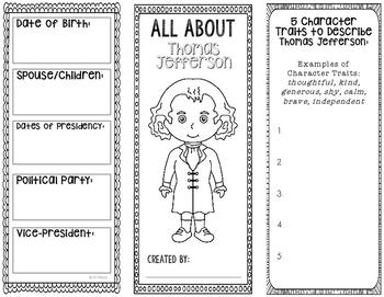 President Thomas Jefferson - Biography Research Project -
