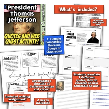 President Thomas Jefferson: What Were His Real Beliefs? Great Station Work!