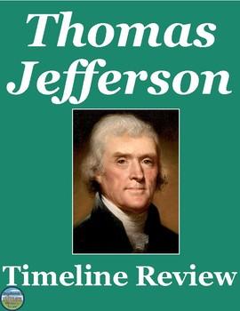 President Thomas Jefferson Timeline Review