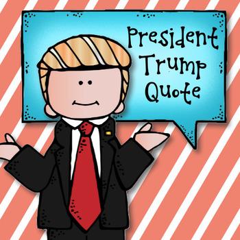 President Trump Quote