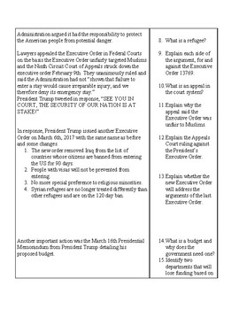 President Trump and Executive Orders