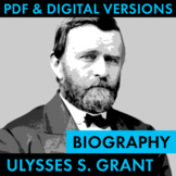 President Ulysses S. Grant Biography Research Organizer, E