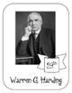 President Warren G. Harding Lapbook and Interactive Notebook