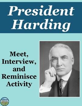 President Warren Harding Review Activity
