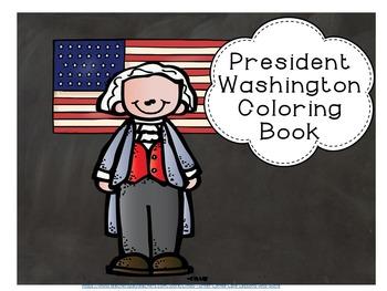 President Washington Coloring Book