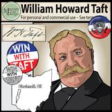 President William H. Taft Clip Art {Messare Clips and Design}