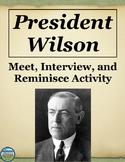 President Woodrow Wilson Activity