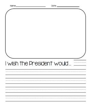 President Writing