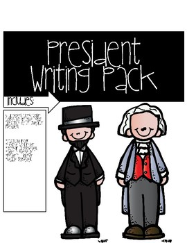 President Writing Flap Book Pack