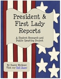 President and First Lady Research and Speech Project