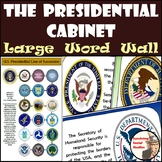 Presidential Cabinet Word Wall w/ Line of Succession Poster