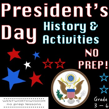 President's Day Reading Comprehension & Writing Activities