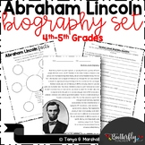 Presidents' Day Abraham Lincoln Biography Set | Distance Learning