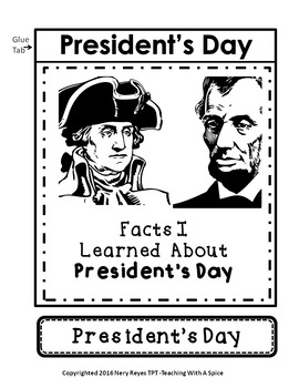 President's Day 32 Pages