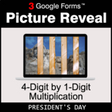 President's Day: 4-Digit by 1-Digit Multiplication - Googl