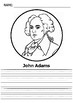 President's  Day - 45 Presidents of the United States (Coloring&Writing)