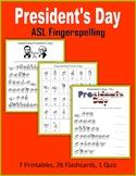 President's Day (ASL Fingerspelling)