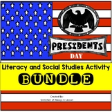 President's Day Activity Literacy and Social Studies Activ