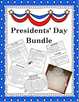 Presidents' Day Activity Bundle