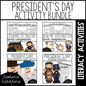 President's Day Activity Bundle | 2nd Grade