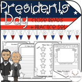 Presidents Day Close Reads + Practice Activities