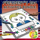President's Day Activity Worksheets