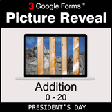 President's Day: Addition 0-20 - Google Forms Math Game |