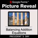 President's Day: Balancing Addition Equations - Google For