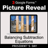 President's Day: Balancing Subtraction Equations - Google