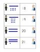 President's Day Base Ten Number Matching Center