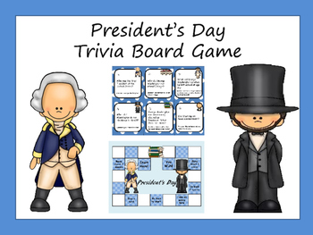 President's Day Board Game