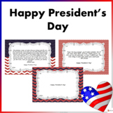 President's Day Cards: Inspirational Cards for Students