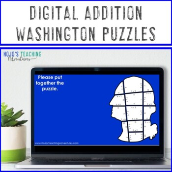President's Day Centers | President's Day Math Activities | Addition Puzzles