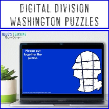 President's Day Centers | President's Day Math Activities | Division Puzzle Game