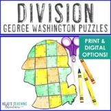 DIVISION President's Day Math Centers or Activities   Cons