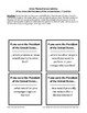 Presidential Roles Card Set / Group Career Activity - FREE