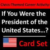 Presidents' Day Card Set / Group Career Activity - FREE